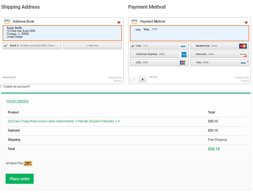 Amazon Pay (S3)
