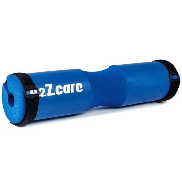 a2zcare squat barbell pad bar pad squat pad squat bar foam pad curshion black protect pad for squat black blue