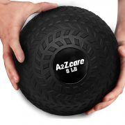 a2zcare slam ball weighted ball ball for slam medicine ball slam throwball excercise ball cardio workouts