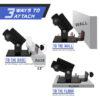 a2zcare t bar row landmine attachment t bar row plate post insert bent over row tbar row handle