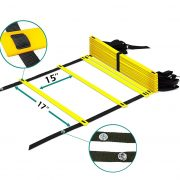 a2zcare agility ladder speed traning equipment for soccer football drills 12 rung 16 rung 20 rung
