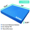 a2zcare balance pad foam pad for yoga balance exercise black blue purple large extra large X XL