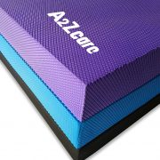 a2zcare balance pad foam pad for yoga balance exercise black blue purple large extra large X XL