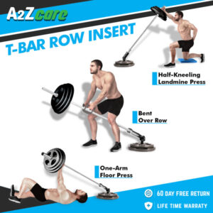 a2zcare t bar row attachment t bar row platform t bar row handle double d row handle v shaped bar tricep rope rotating bar machine cable attachment