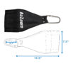 a2zcare ab straps hanging abdomial slings sling strap pull up bar straps chin up bar straps for abs d moose ab strap swing straps